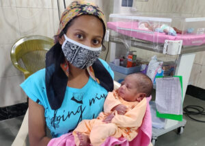 Term baby with respiratory failure